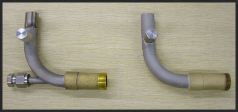 Cegrit flyash sampler pipe assembly
